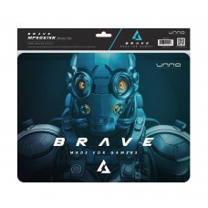 Unno, Mouse Pad Gaming Brave 27x32 cm --MP6051GN--