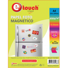 PAPEL FOTOGRAFICO GLOSSY A4 MAGNETICO